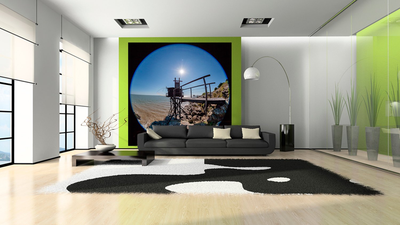 Décoration D'intérieure, Tapisserie - Collection Photographique Photo-sorin.com