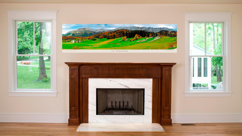 Décoration D'intérieure, Tableau Panoramique 200 X 50 Cm - Collection Photographique Photo-sorin.com