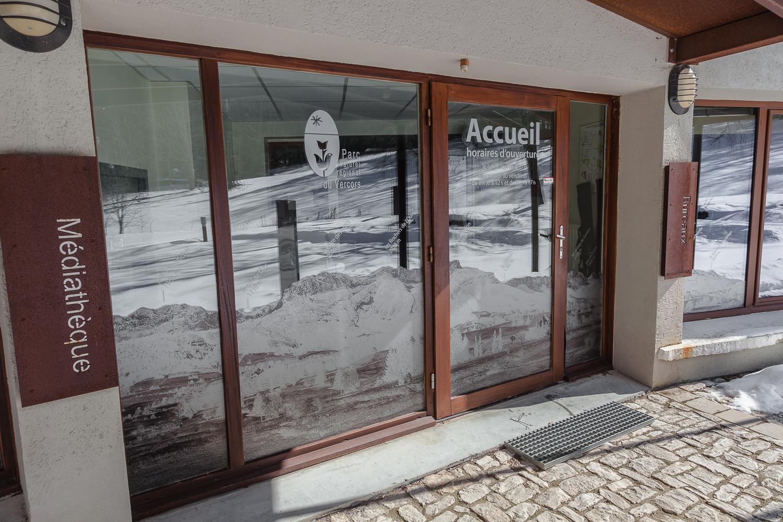 Décoration, Impression Découpe Sur Adhésif Dépoli. Accueil PNRV